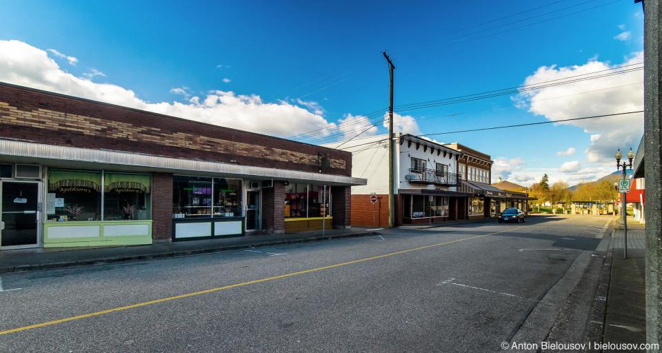 Chilliwack downtown: Mill Street