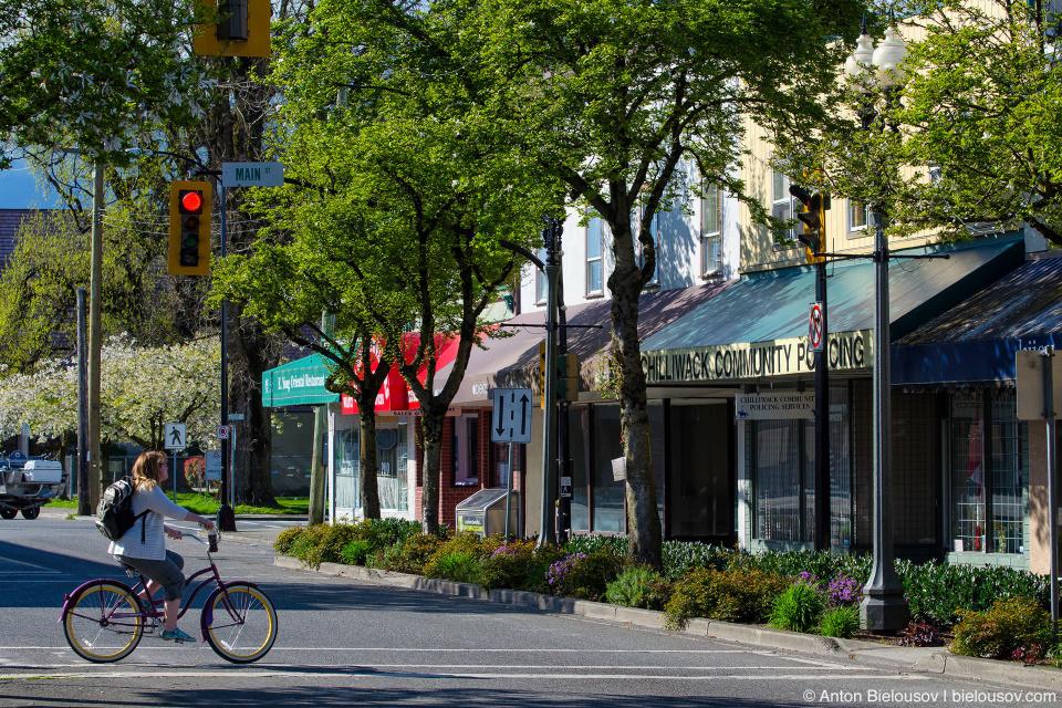 Chilliwack downtown street