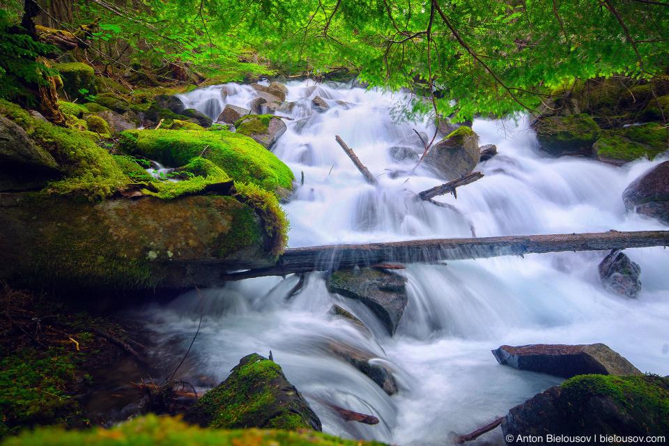 Lindeman Lake Creek Waterfall (Chilliwack, BC)