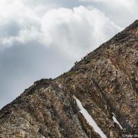 Переход по гребню на пик горы Фрости