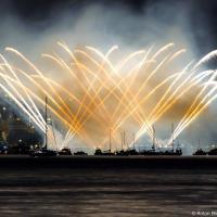 Vancouver Lights Festival 2013 UK Team Fireworks from Jericho Beach
