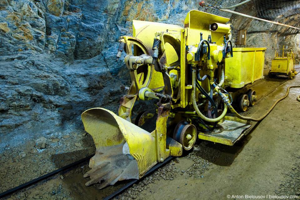 Шахтовый погрузчик (Britannia Mine Museum)