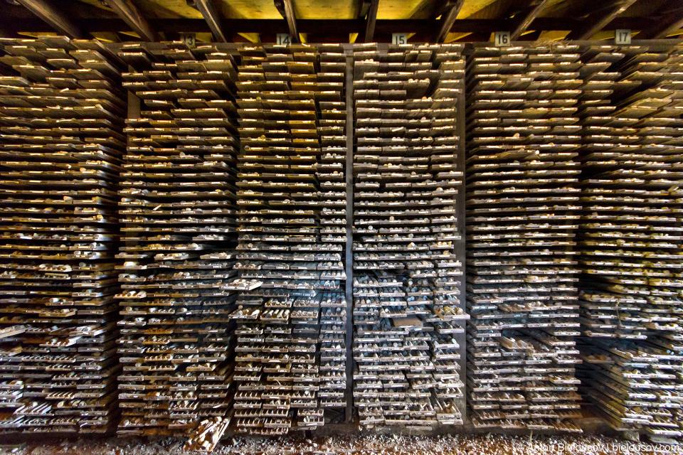 Хранилище проб грунта (Britannia Mine Museum)