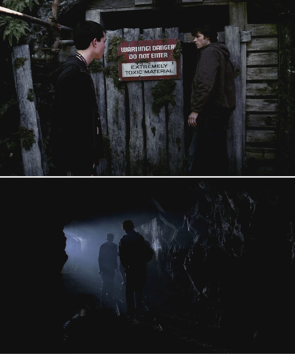 "Supernatural ""Wendigo"" (s1e2) filming location at Britannia Mine"