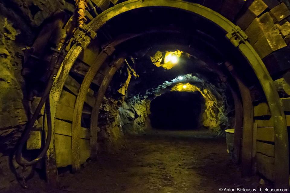 Britannia Mine Closed Tunnel