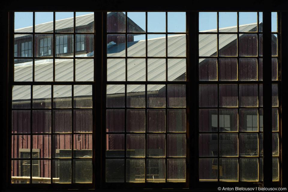 Britannia Mine Mill No3 Window