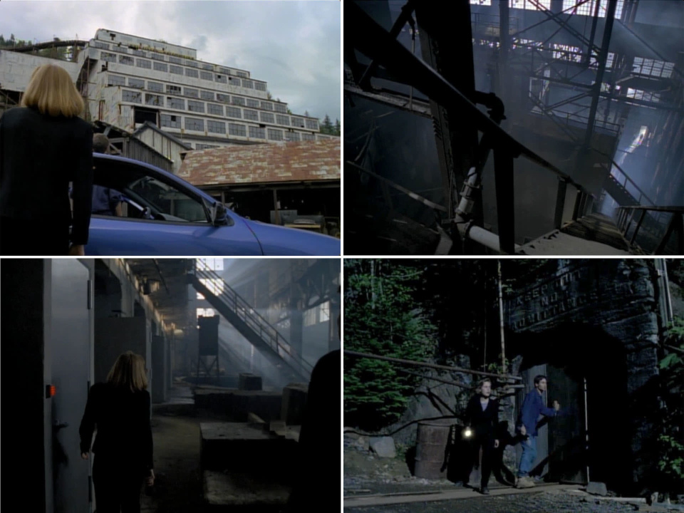 "X-Files ""Paper Clip"" (S3e2) filmed in Britannia Mine Museum"
