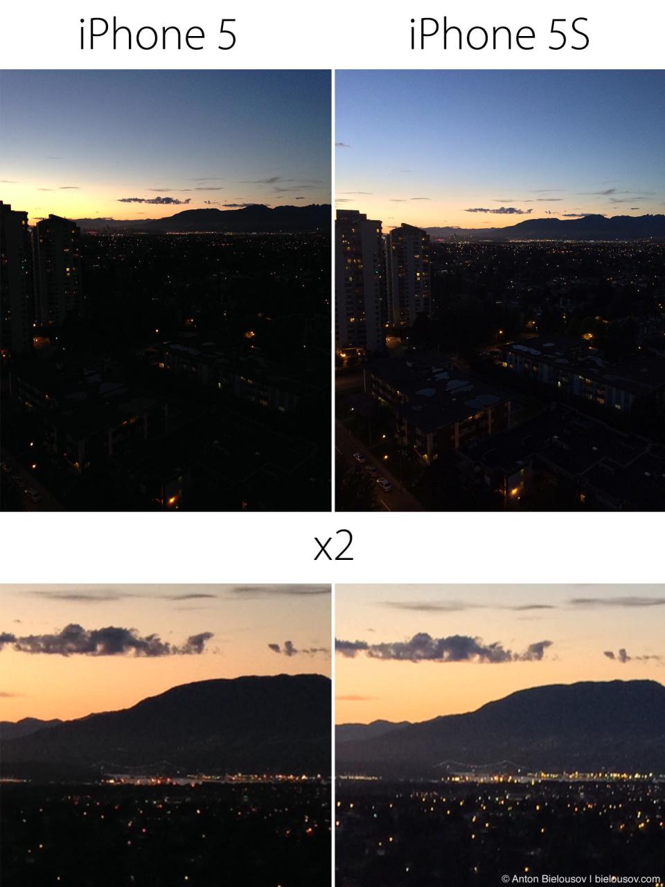 Тест камеры iPhone 5s мы iPhone 5 (HDR On)