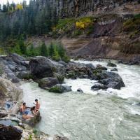 Keyhole Falls Hot Springs