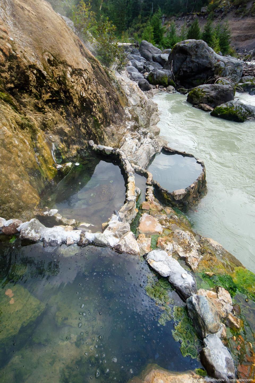 Keyhole Falls Hot Springs Baths