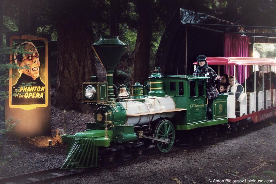 Vancouver Stanley Park Halloween Ghost Train