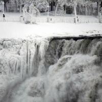Замерзшая Ниагара