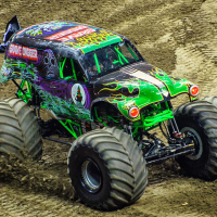 Grave Digger Monster Truck (Vancouver, BC 2014)