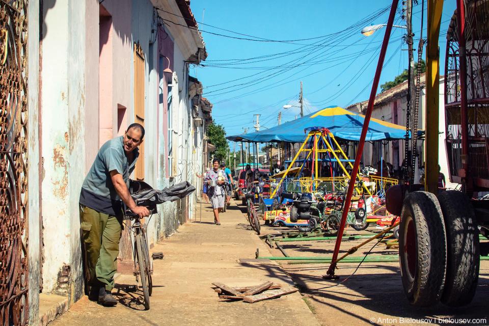 Парк аттракционов — Remedios, Cuba