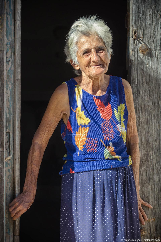 Кубинская пенсионерка
