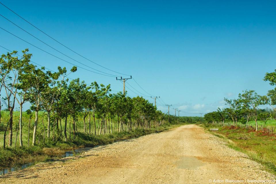 Кубинская дорога когда кончается асфальт