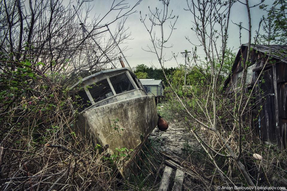 Finn Slough boat (Vancouver, BC)
