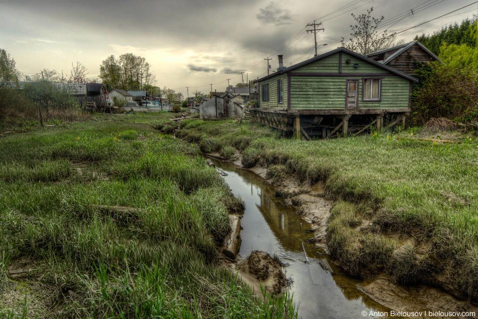 Finn Slough village (Vancouver, BC)