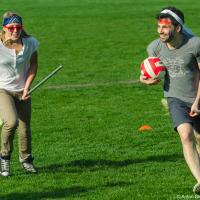 Матч по Квиддичу между Mobify и Hootsuite