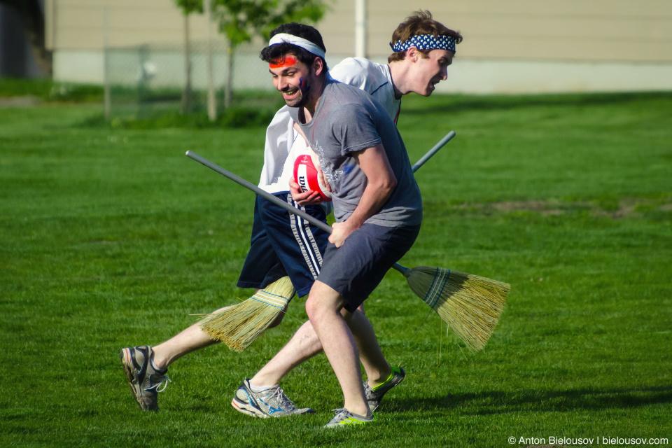 Матч по Квиддичу (Quidditch) между Mobify и Hootsuite