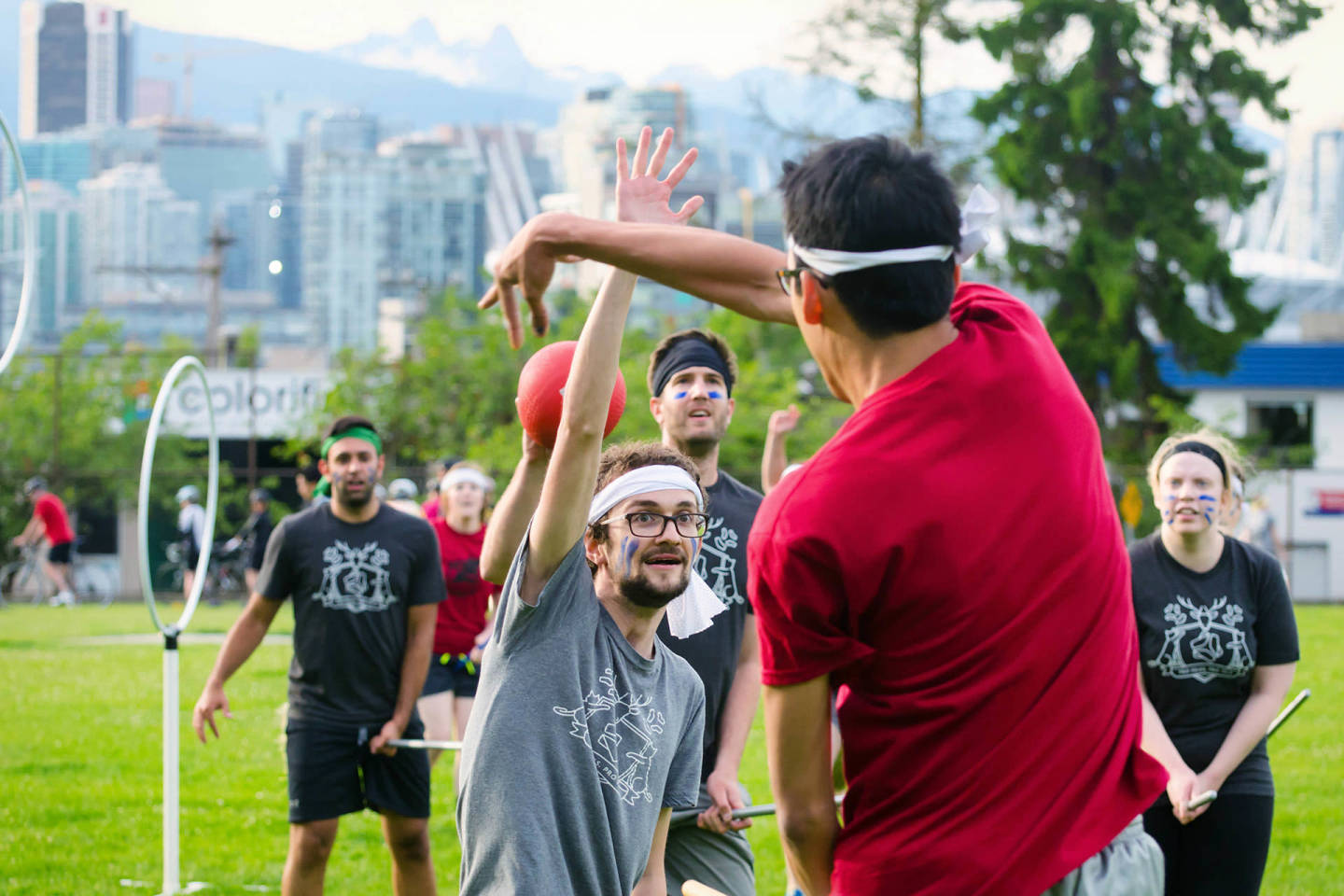 Quidditch Game in Vancouver: Hootsuite vs Electronic Arts