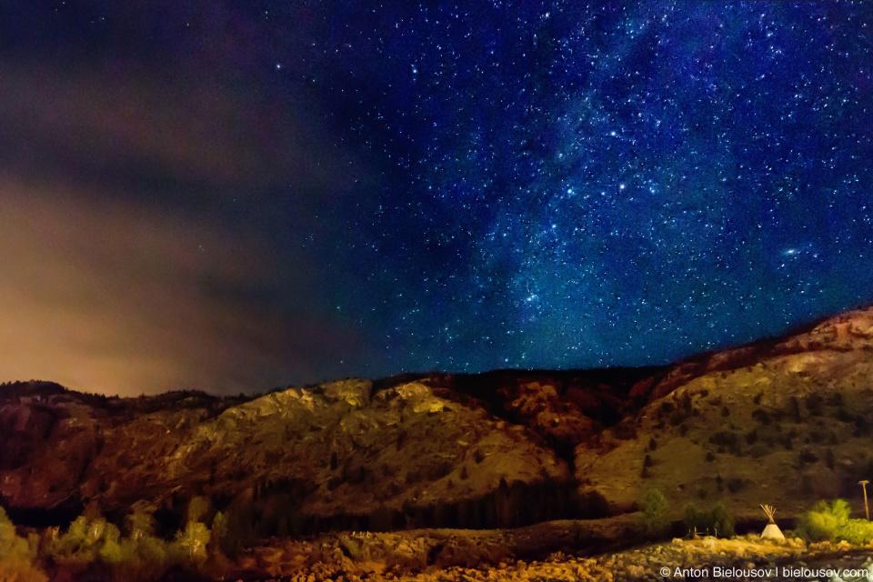 Milky Way in Nk'mio Desert (Osoyoos, BC)