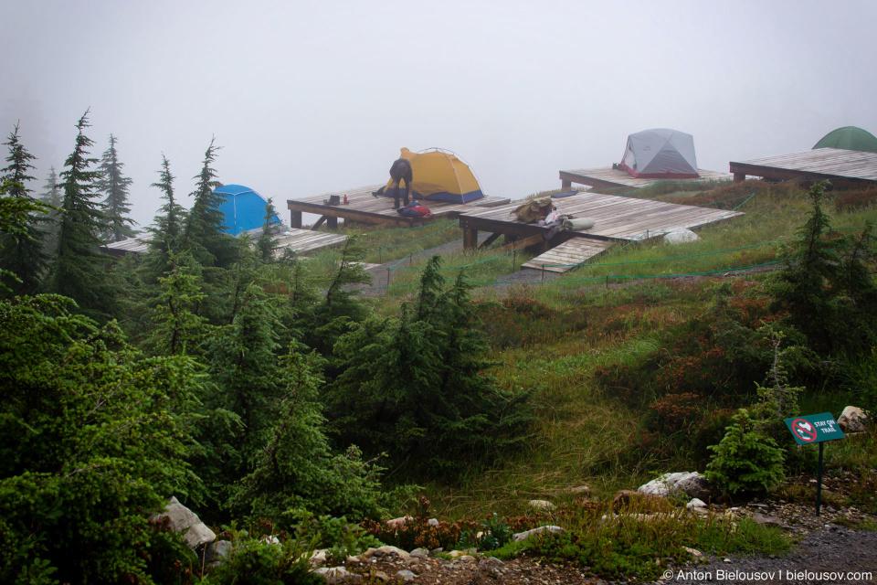 Elfin Lakes Campsite