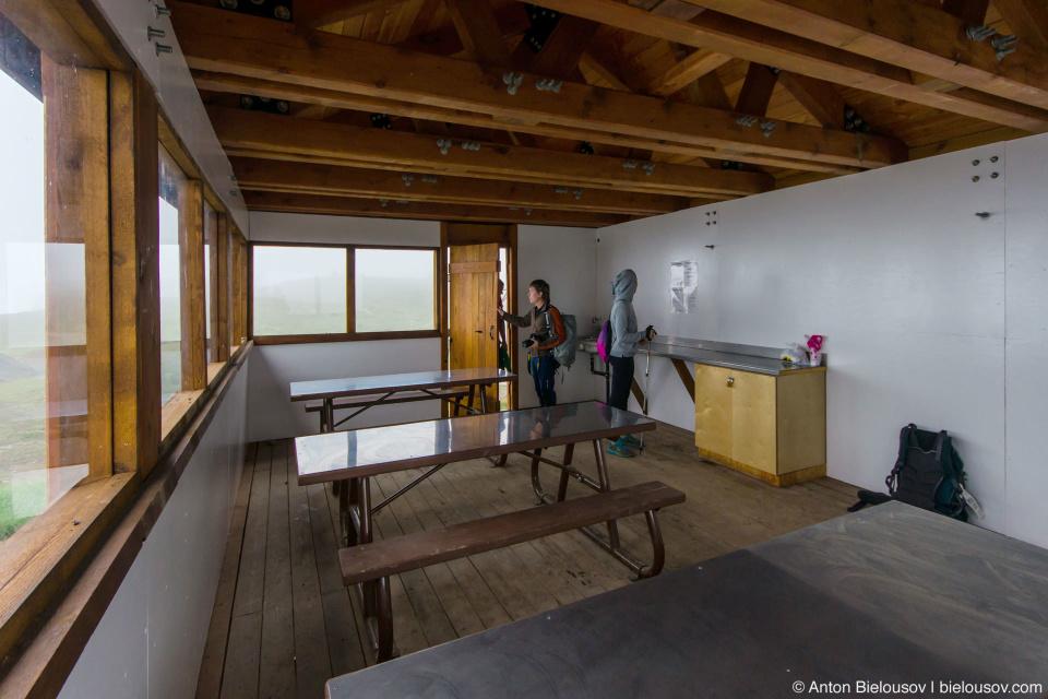 Elfin Lakes Cabin