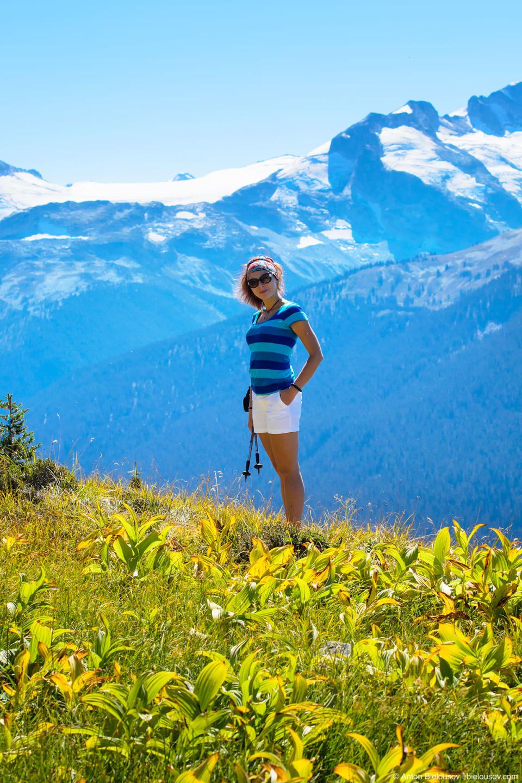 Альпийский луг, High Note trail, Whistler, BC