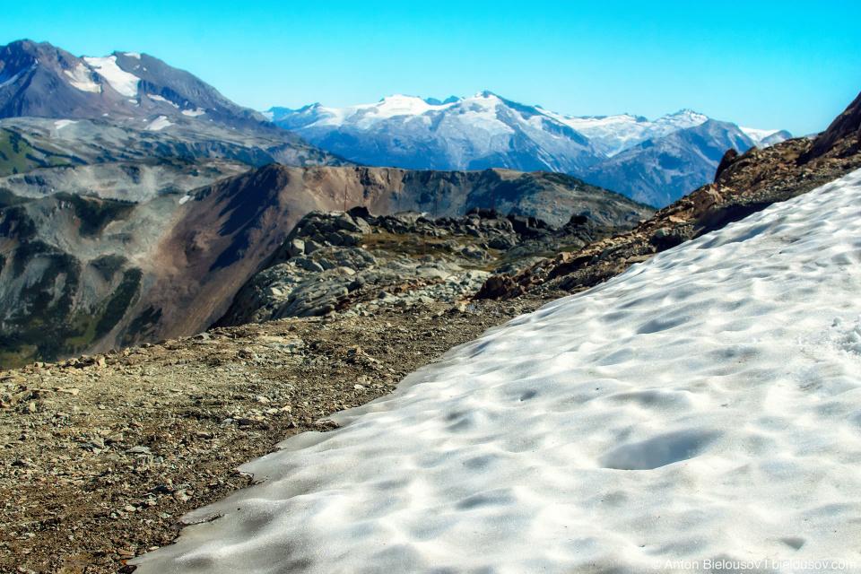 Matthew's Traverse in summer (Whistler, BC)