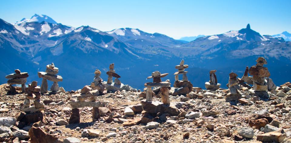 Инукшук на горе Вистлер (Whistler, BC)