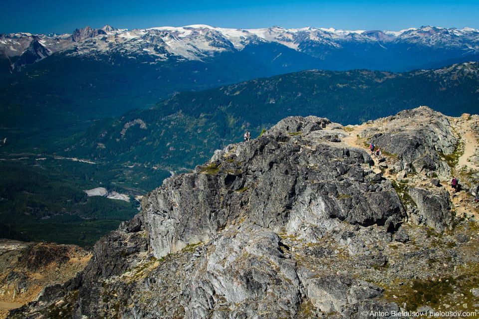 Whistler Mountain Peak 2,160m