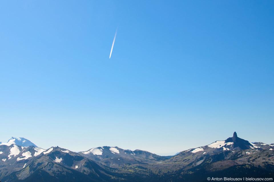 Вид с горы Вистлер (Whistler, BC)