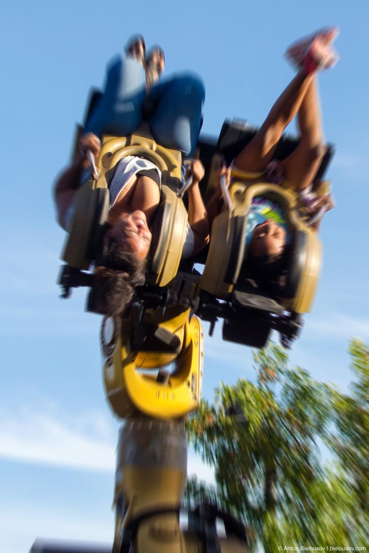 Legoland BIONICLE Blaster ride — Carlsbad, CA
