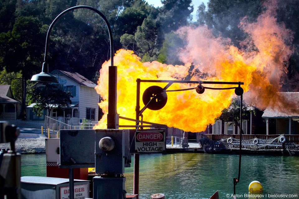 Jaws Lake at Universal Studios Backlot, Hollywood, CA
