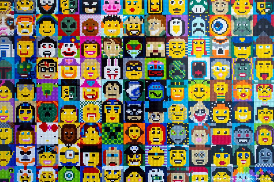 С создания LEGO в 1958 году произведено более 400 млрд. деталей (это более 60 на каждого жителя Земли). Всего из 40 млрд. кирпичиков можно было бы построить мост на Луну.