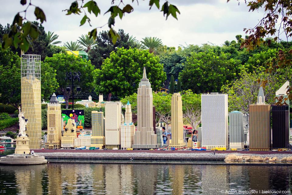 Miniland New York in Legoland
