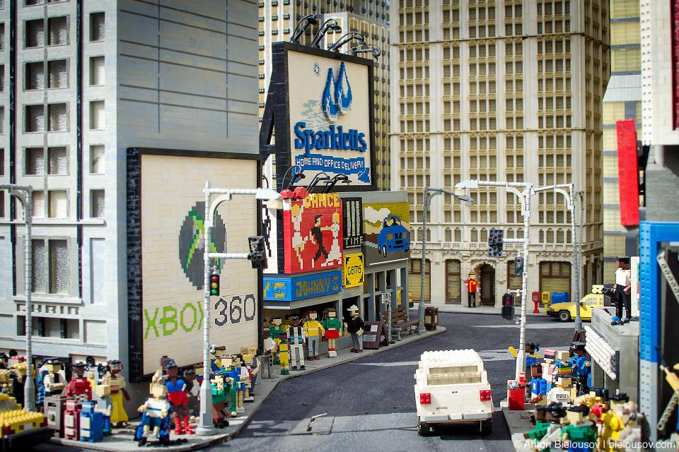 Miniland New York Streets — Legoland (Carlsbad, CA)