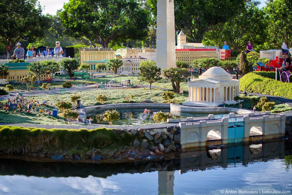 Washington D.C. National Mall in Legoland's Miniland USA