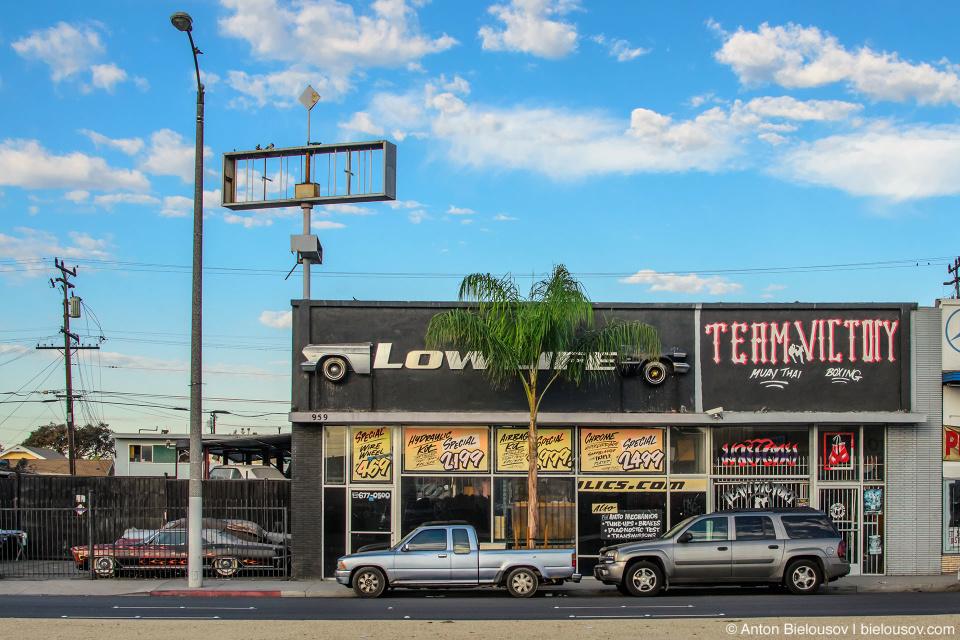 Малый бизнас в Лос-Анджелесе