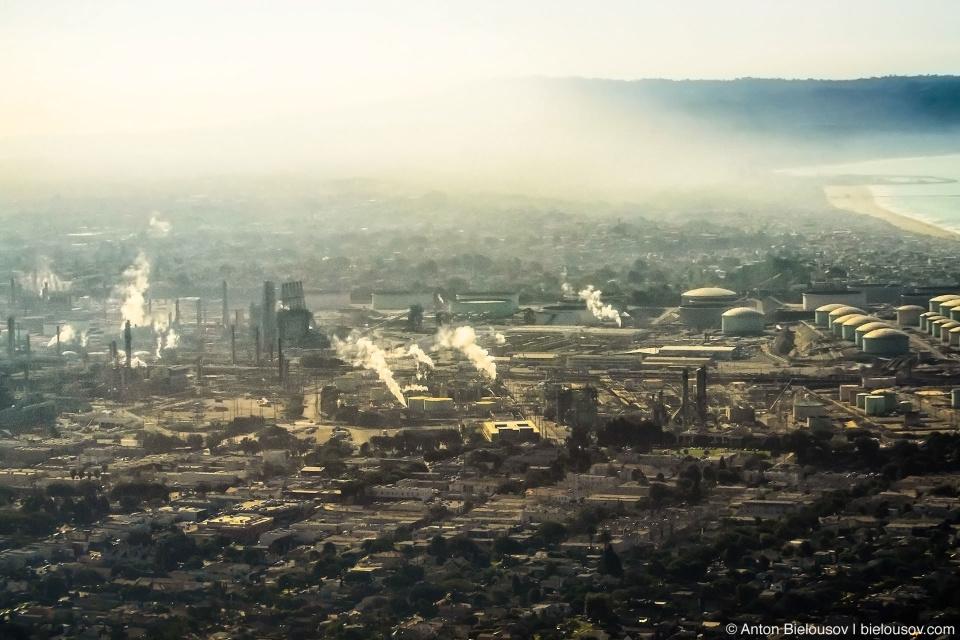 В следующий раз расскажу о студии Юниверсал в Голливуде, пока же несколько фоточек Лос-Анджелеского смога с самолета.