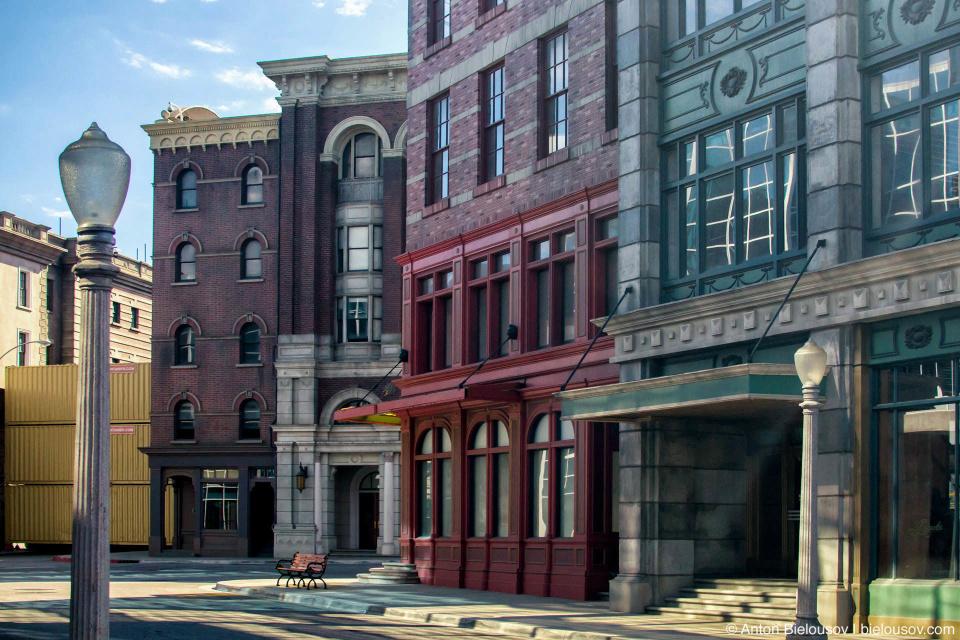 New York Streets Backlot — Universal Studios, Hollywood, CA