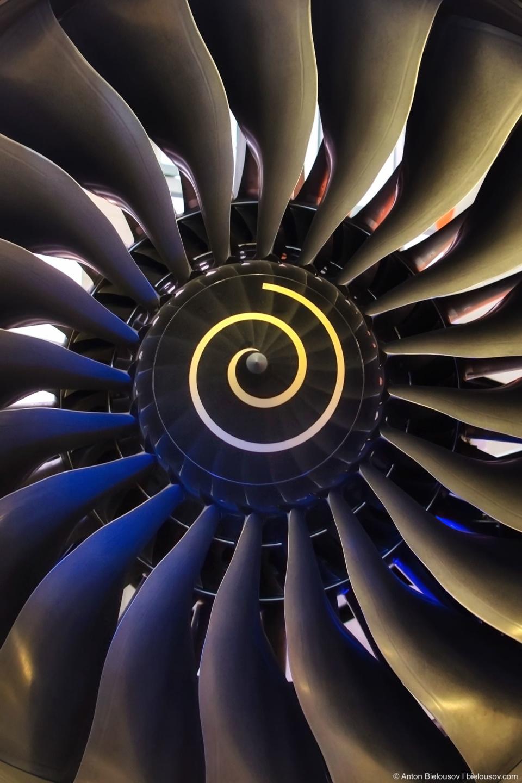 Турбина реактивного двигателя