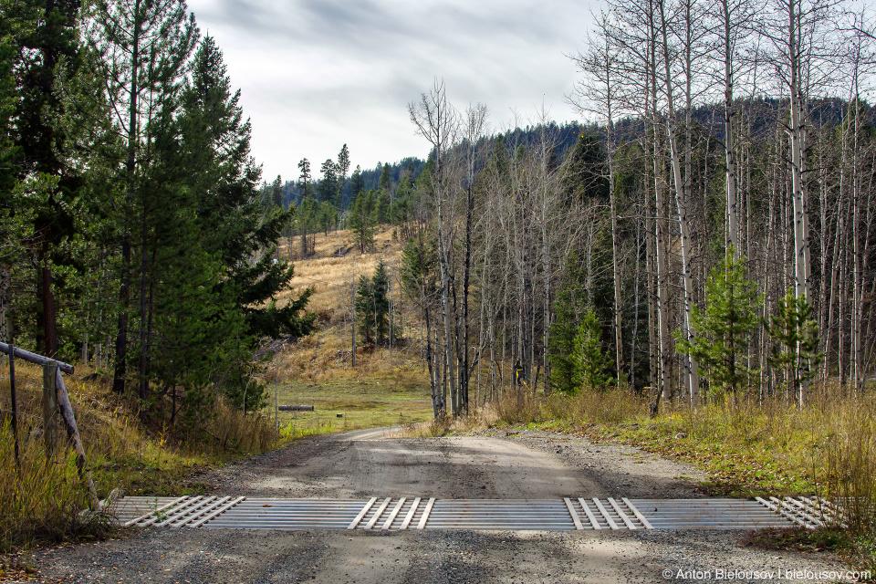 Coalmont Road to Tulameen near Princeton, BC