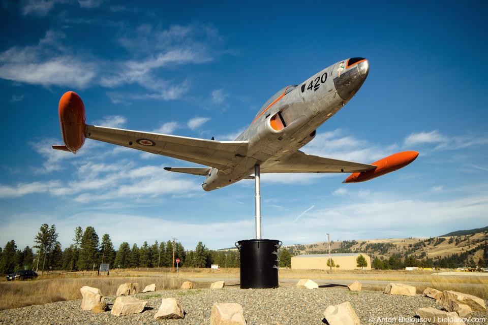 Памятник военным летчикам в Принстоне (Princeton, BC)