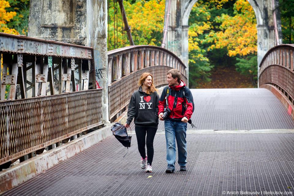 Alexandra Bridge in autumn colours
