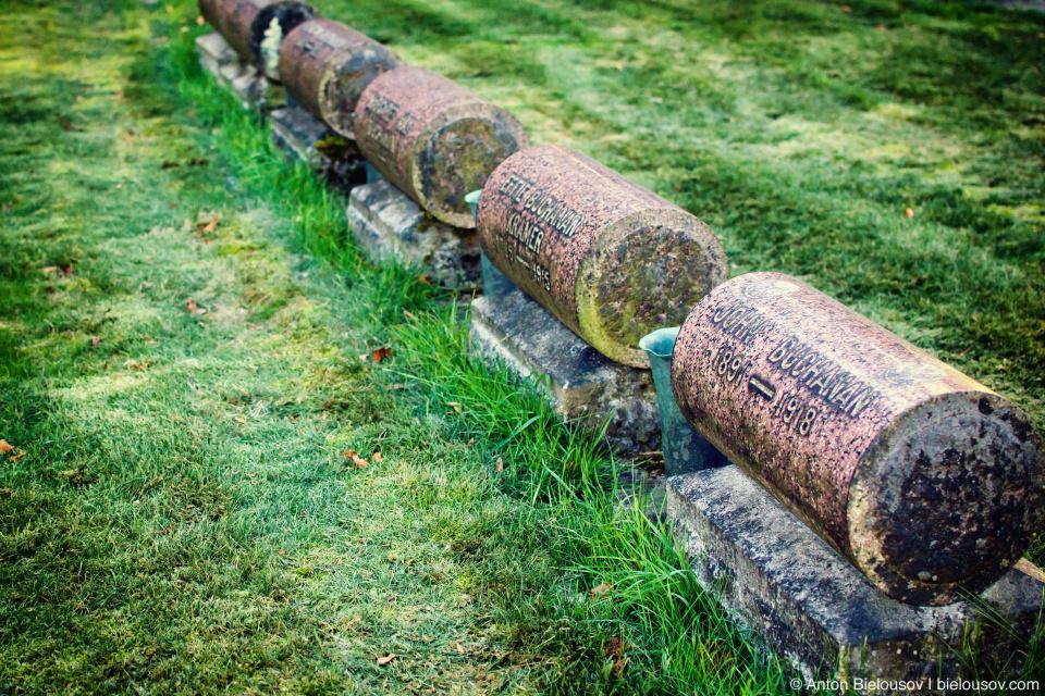 Столетние могилы лесорубов (Lake View Cemetery — Seattle, WA)