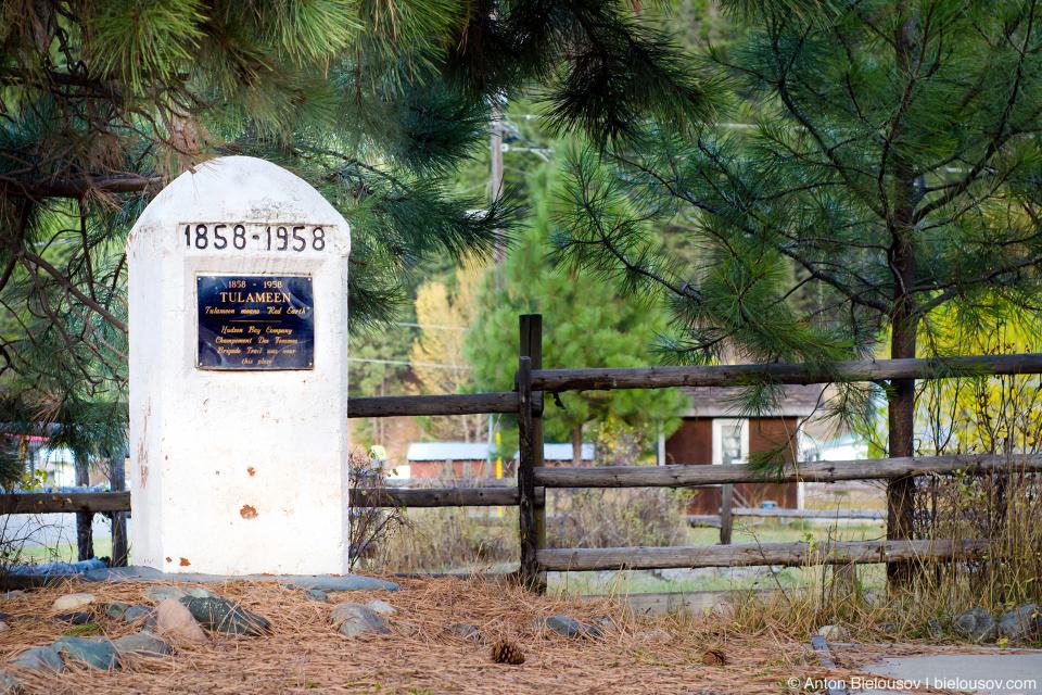 Tulameen 1858—1958