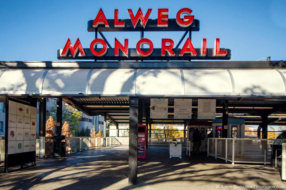 Alweg Monorail (Seattle, WA)