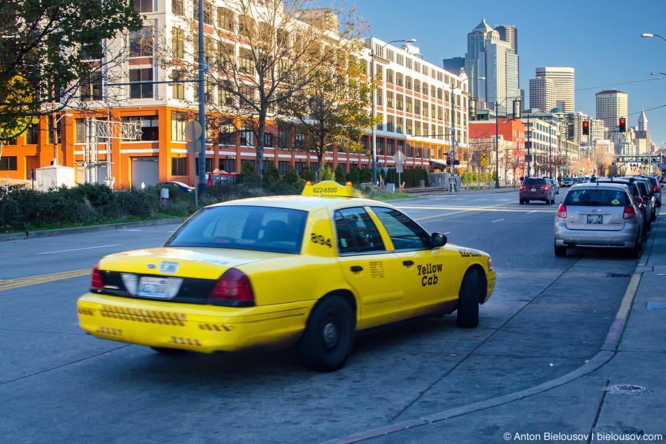 Taxi cab (Seattle, WA)